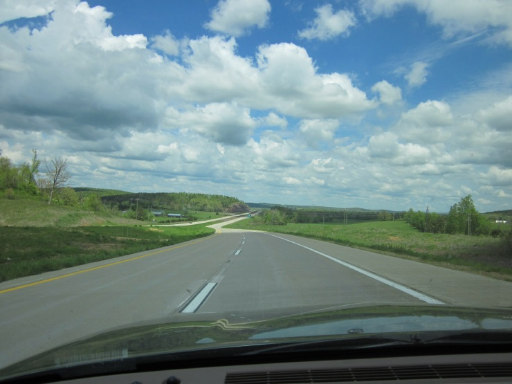 the road home....